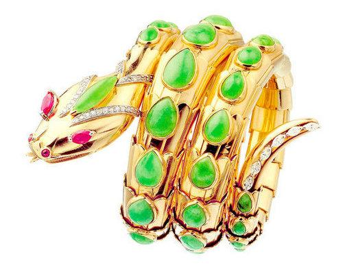 经典蛇形珠宝 穿越千年珠宝史话