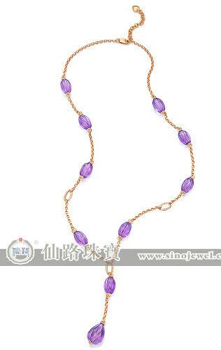 仙路珠宝\紫玲珑\紫晶系列