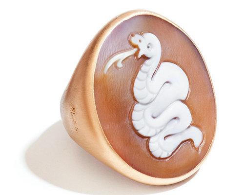 POMELLATO宝曼兰朵浮雕珠宝献礼蛇年