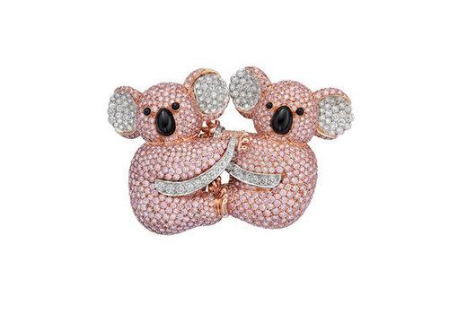 设计精致绝伦的动物胸针,到格拉夫经典的蝴蝶造型设计的珠宝和腕表