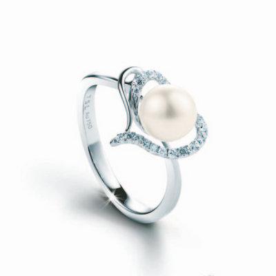 TSL|谢瑞麟母亲节珠宝推荐:珍爱珍珠钻饰系列戒指